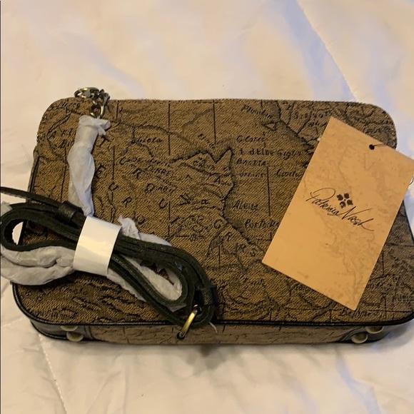 Patricia Nash Handbags - Patricia Nash NWT Jacquard Map Print Crossbody